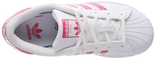 Adidas Sneaker Pink Unisex White footwear Bambini White – Bianco footwear real Superstar q7ATwqpx6