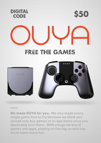 OUYA $50 Digital Token  [Online Game Code]