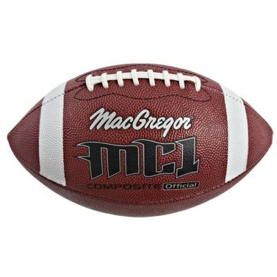 MacGregor Composite Leather Football Ages 6-9 (Macgregor Youth Composite Football)