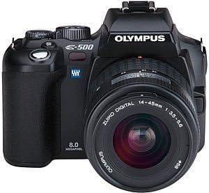 Olympus E-500 Double Zoom Kit - Accesorio para cámara (Negro ...