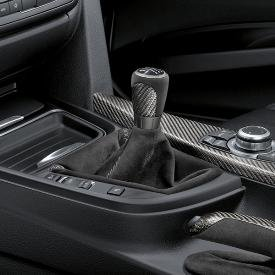 BMW M Performance Carbon Fiber Gear Shift Knob with Alcantara Boot , #25112222534 (2012-Current 3 Series) ()