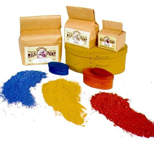 Old Fashioned Milk Paint Non-VOC Powder Paint (Lexington Green, Pint)