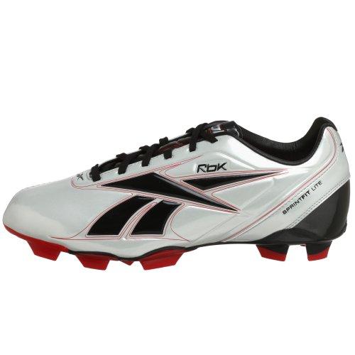 Reebok - Zapatillas Botines de Fútbol hombre - Sprintfit Lite FG - Gris T 45: Amazon.es: Zapatos y complementos