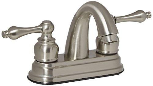 Centerset Spout 4' Faucet (Elements of Design EB5618AL Chicago 4
