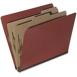 NSN5567912 Classification Folder,25 Pt.,6 Part,2 Dvdr,Ltr.,10/BX,RT