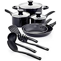 12-Pc. Tools of the Trade Nonstick Cookware Set