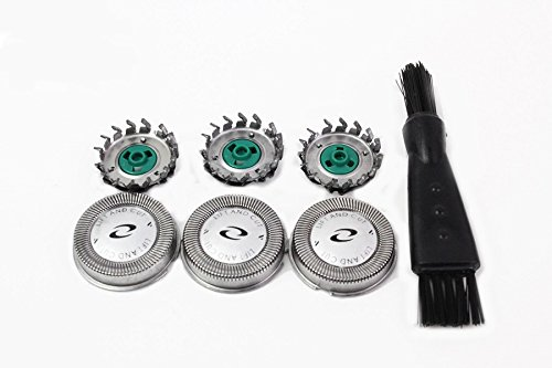 Electric Shaver Replacement Heads Razor Head For Philips AT750 AT890 PT 860 PT720 PT724 PT730 AT810 AT830 PT723 PowerTouch Electric Shaver Razor 3 pieces
