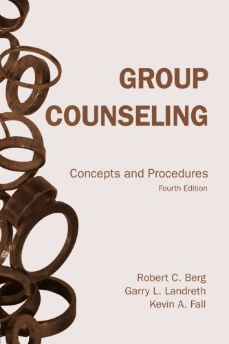 Group Counseling, fourth edition: Concepts and Procedures (Volume 1)