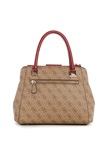 Logo Luxe Brown Society Guess Small fvAqwgp