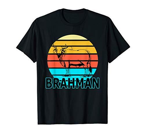Zebu Cattle, Brahma Bull Hump, Dewlap Cow, Indian Aurochs T-Shirt