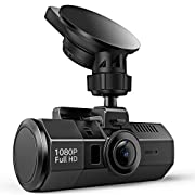#LightningDeal Crosstour Dash Cam 1080P FHD DVR Car Dashboard Camera Video Recorder for Cars Super Night Vision, 170° Wide Angle, HDR, Time Lapse, Motion Detection, Loop Recording and G-Sensor