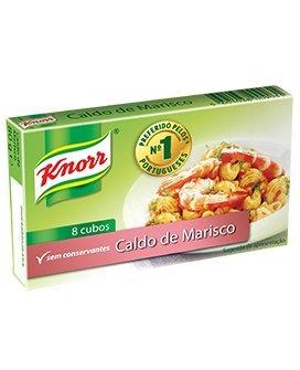 Knorr Seafood Boullion Cubes 8 Cubes 4 Pack
