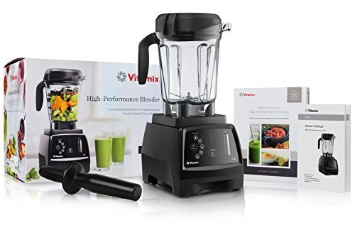 Vitamix 780 G-Series Next Generation Series Touchscreen Blender with 64-Ounce Container + Introduction to High Performance Blending Recipe Cookbook + Low-Profile Tamper (Vitamix Blender Blending compare prices)