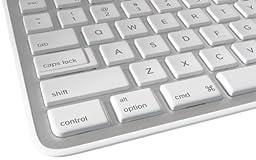 Logitech Wireless Solar Desktop Keyboard K750 for Mac - Silver