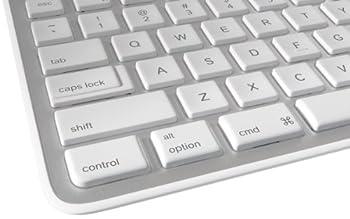 Logitech K750 Wireless Solar Keyboard For Mac — Solar Recharging, Mac-friendly Keyboard, 2.4ghz Wireless - Silver 4