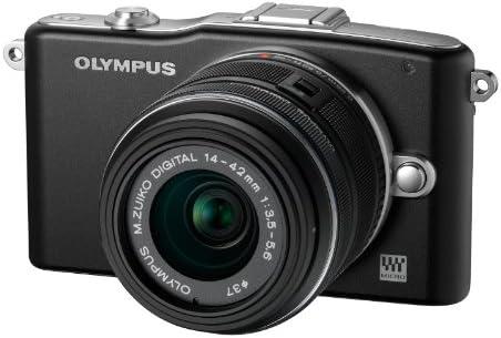Olympus V20601BSE000 - Cámara Digital (14-42 mm II R y 40-150 mm ...