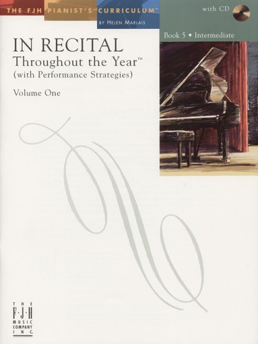 Read Online In Recital Throughout the Year, Volume One, Book 5 PDF