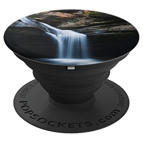 Hocking Hills Waterfall - PopSockets Grip and Stand for Phones and Tablets ()