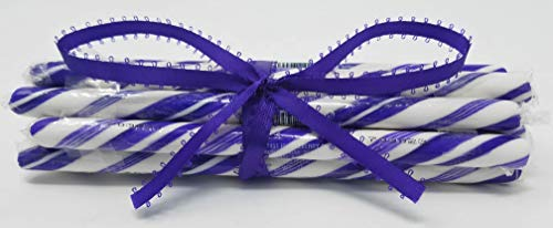 Kencraft Candy Sticks - Circus Candy Sticks Purple 10 pieces