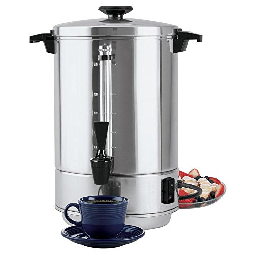 Focus WestBend 55 cup Aluminum Commercial Coffee Percolator - 13 1/2''Dia x 17''H by FOCUS FOODSERVICE LLC
