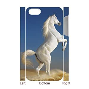 D-PAFD Diy hard Case Horse customized 3D case For Iphone 4/4s