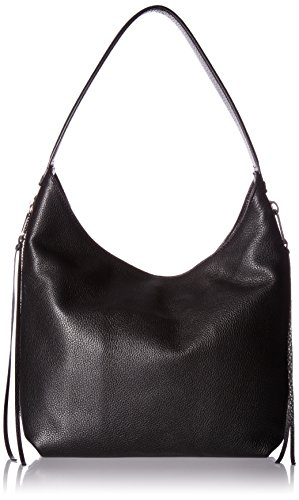 Rebecca Minkoff Medium Bryn Double Zip Hobo, Black by Rebecca Minkoff