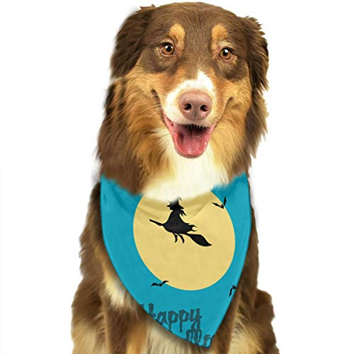 Address Verb Dog Bandana Pet Scarf Halloween Switch Cute Triangle Bibs Baby Puppy Cat Kitten]()