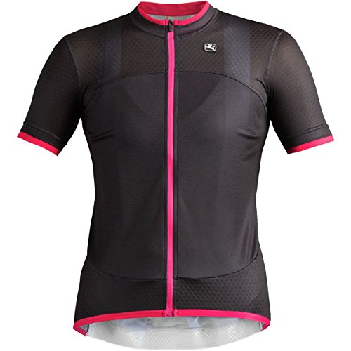 Giordana SilverLine Short-Sleeve Jersey - Women's Black, L (Silverline Jersey Womens Giordana)
