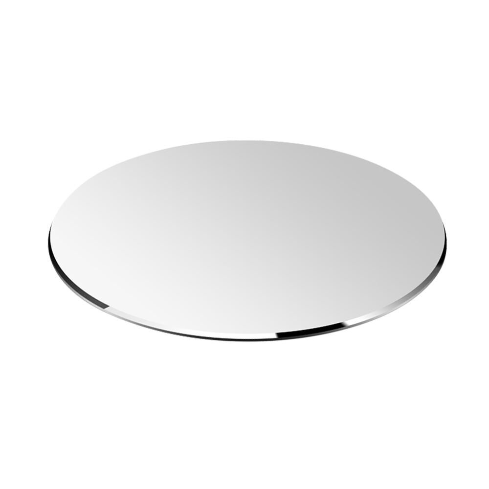Round Hard Metal Aluminum Mouse Pad Circle Ultra Thin Double Side Design Waterproof Fast and Accurate Control for Gaming and Office(Round 8.66X8.66 inch) by Yicaihong (Image #2)