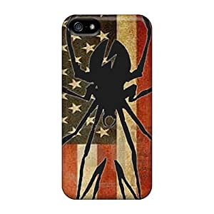 Scratch Protection Hard Phone Cases For Apple Iphone 5/5s With Custom Colorful My Chemical Romance Image TrevorBahri