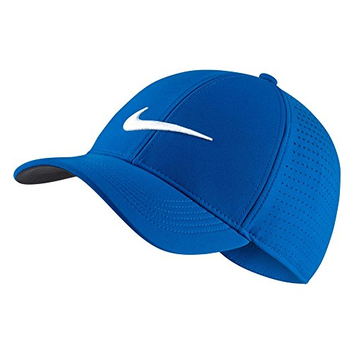 Nike Legacy 91 Performance Golf Cap 2017 Blue Nebula/Anthracite/Green Glow One Size Fits All Blue One Fit Hat