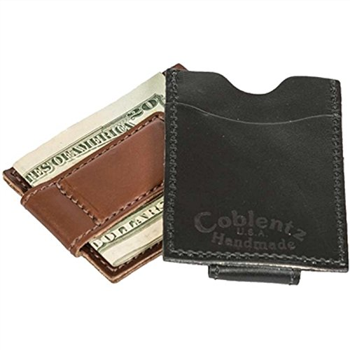 Full For Amish Slim Money Men Handmade Grain Clip Black W905 Wallet Leather nqTOwHqYR
