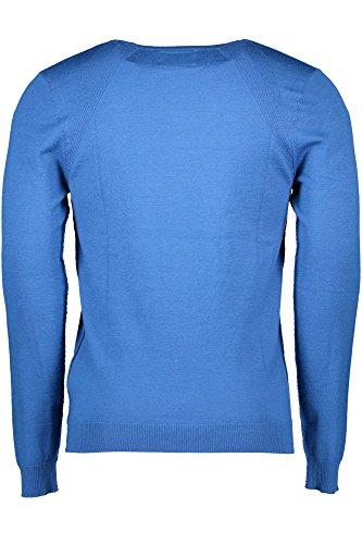 GUESS D709 Camiseta Hombre para Azul Térmica nTraOqTY