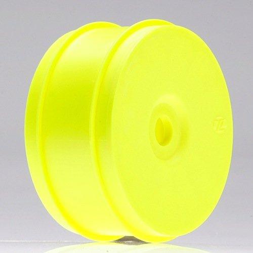 (Team Losi 1/8 Buggy Dish Wheel, Yellow (4))