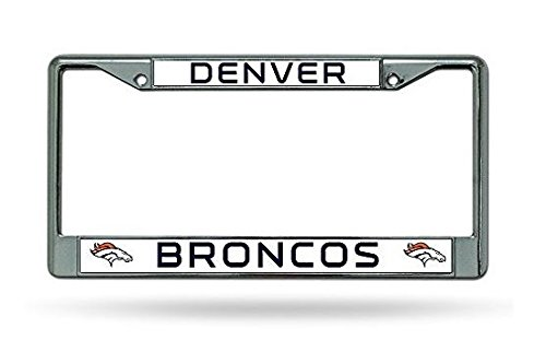 Denver Broncos Chrome Frame