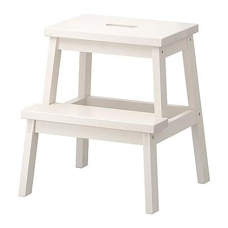 IKEA, sgabello BEKVÄM bianco bianco: Amazon.it: Casa e cucina