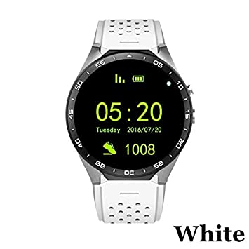 WDXDP Pulsera Inteligente Kw88 PS Smart Watch 3 WiFi 1.39 Pulgadas ...