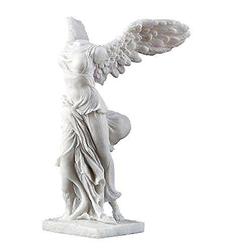 サモトラケのニケ彫像 ルーブル美術館 勝利の女神 ギリシャ 彫刻 Nike Winged Victory of Samothrace Figurine B00M2VDISQ