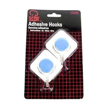 Bulk Buys Large Adhesive Hooks - Case of 48