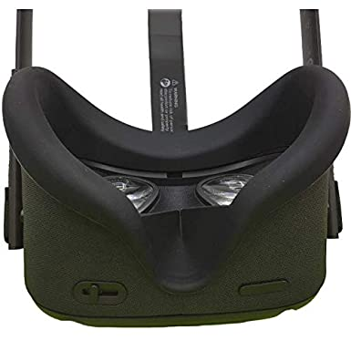 VR Face Silicone Cover Mask /& Face Pad for Oculus Quest Face Cushion Cover Sweatproof Lightproof