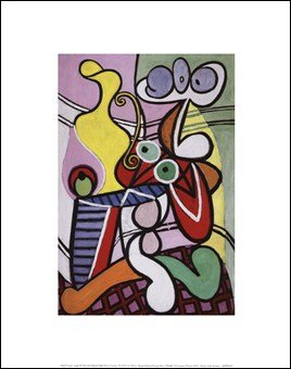 Large Still Life with Pedestal Table by Pablo Picasso, Art Print Poster 14
