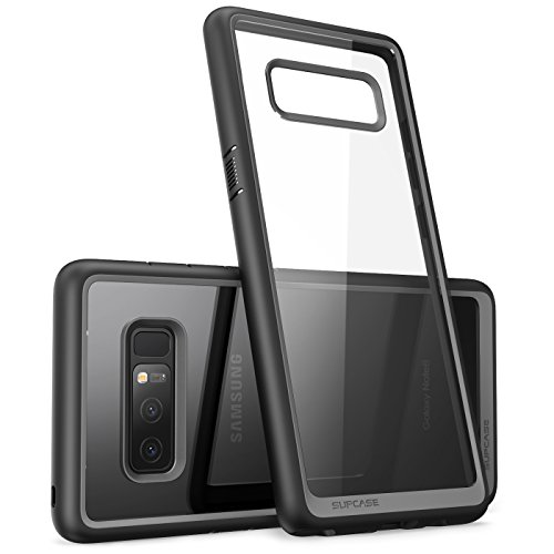 SUPCASE Unicorn Beetle Style Case Designed for Galaxy Note 8, Premium Hybrid Protective Clear Case for Galaxy Note 8 2017 Release (Black)