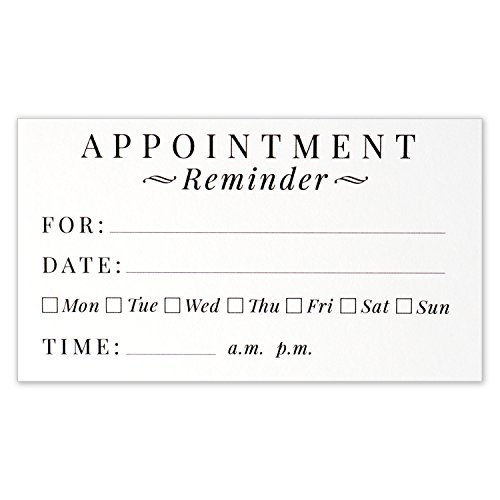 Expert choice for reminder cards