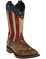 Laredo Womens Freedom Cowgirl Boot Square Toe - Wheat