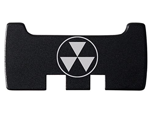 NDZ Performance for Glock Rear Ambi Speed Slide Racker Plate MOS Optics Black for Gen 1-5 Most Models Laser Engraved Image: Fallout Shelter Symbol Semi Solid