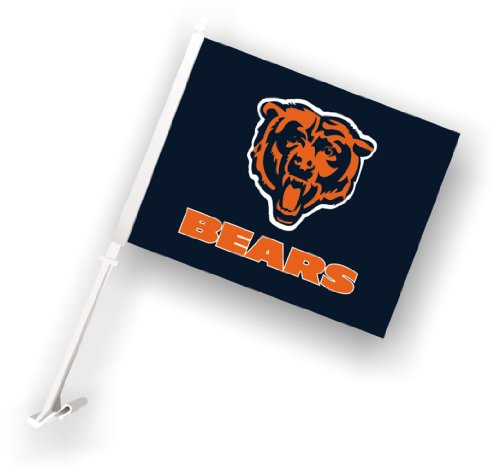 Football Car Flag - NFL Chicago Bears Car Flag