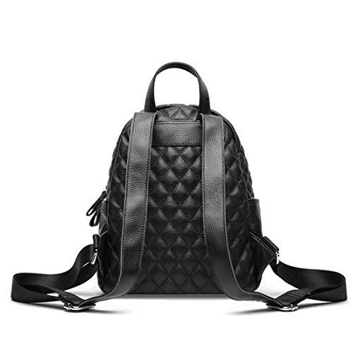 Donna Scuola Black A Da Black Klerokoh In Zaino Daypack Per Tracolla color Casual Pelle Borse npXqvOxqS
