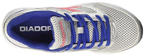 De Shape Dd 7 Chaussures Brillante Adulte Gris Mixte Diadora rosa Course argento OaxRwRt