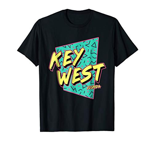 Vintage 80s Key West Florida T Shirt for Men Women & Kids FL (90 Miles To Cuba Key West Fl)