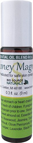 Money Magnet Essential Oil Roll on 9 ml / 0.3 oz for Law of Attraction & Abundance Aromatherapy